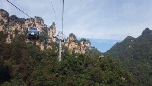 ZhangJiajie Cable Car