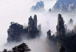 Zhangjiajie is the top Travel destination for the local Chinese people