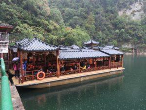 Cruise along Baofeng Lake Zhangjiajie