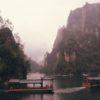 Relax along Baofeng lake Zhangjiajie