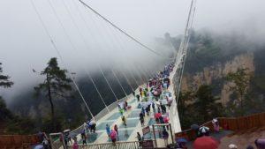 Zhangjiajie famous Glass Bridge - Grand Canyon Park