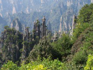 Beautiful Mountains Zhangjiajie National Forest Park