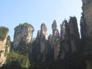 Zhangjiajie National Forest Park mountain