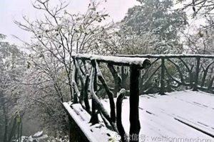 Winter at Zhangjiajie is still scenic