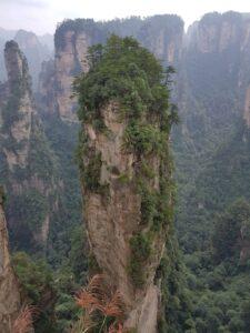 Strange peaks ar National Forest Park, Zhangjiajie