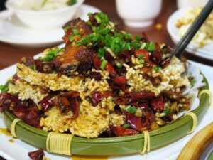 Spicy pork at Zhangjiajie