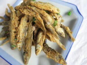 Lake fish deep fry , Zhangjiajie