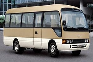19 Seater Vehicle for hire at Zhangjiajie