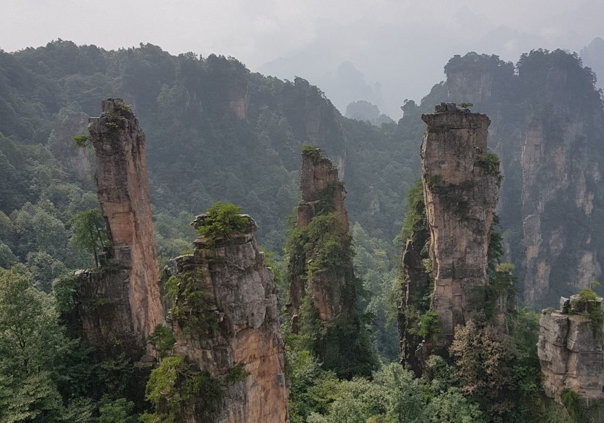 Avatar Hallelujah Shooting location at Zhangjiajie