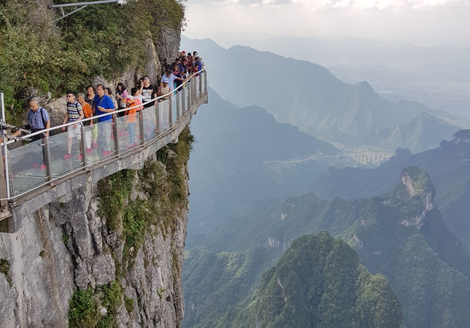 Tianmen Mountain Glass Bridge, Zhangjiajie